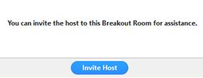 invite host